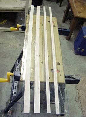 Leading & Trailing Edge strips